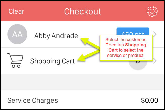 2-Select_Customer_and_Tap_Shopping_Cart.png