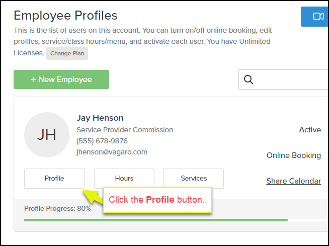 How to Add an Employee Photo – Vagaro Support